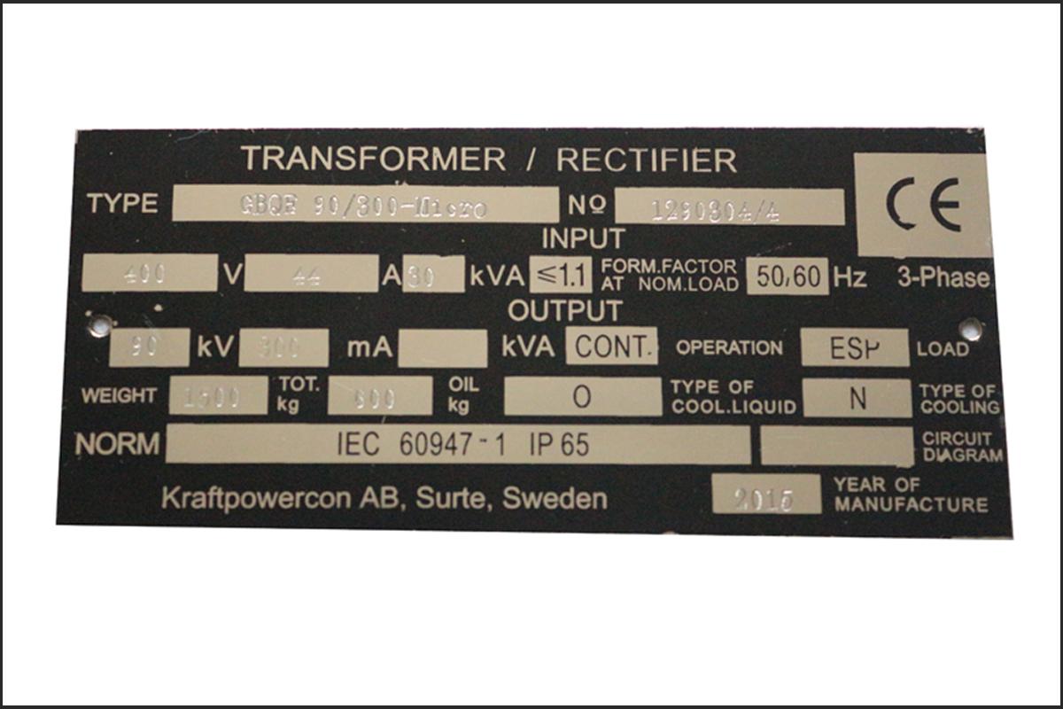 设备丝网标签印刷