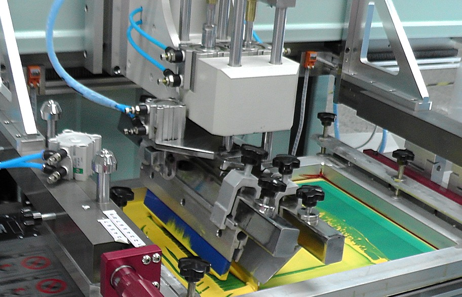印刷制版教程_丝网标签印刷机的基本印刷方式 天势科技>